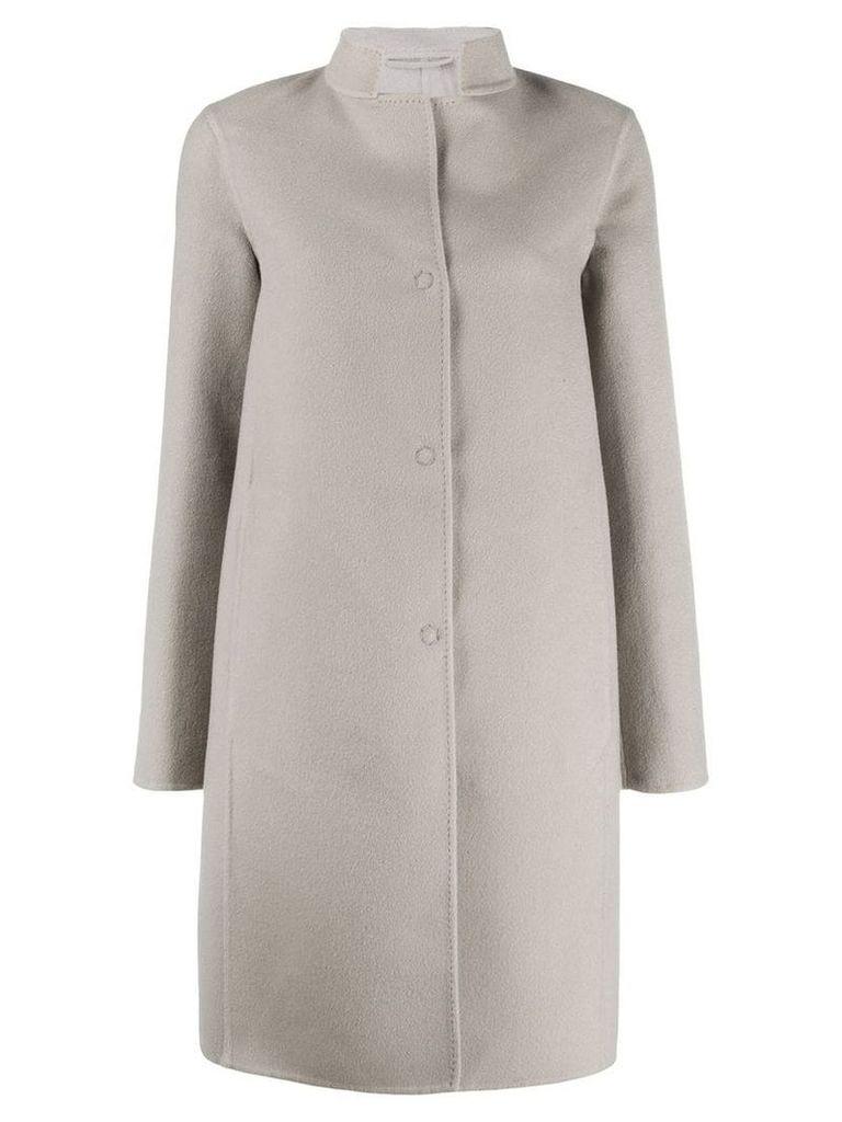 Manzoni 24 single-breasted coat - Grey