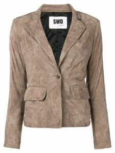 S.W.O.R.D 6.6.44 fitted blazer jacket - Brown