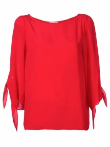 Semicouture loose jersey top - Red