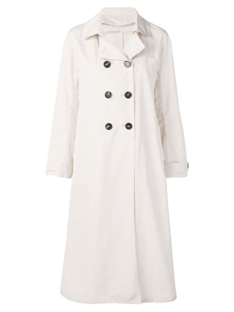 Max Mara double breasted trenchcoat - Neutrals