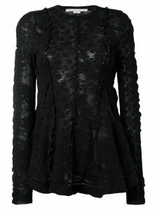 Stella McCartney floral lace top - Black