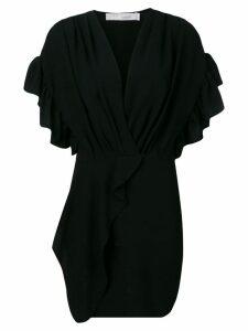 Iro ruffled mini dress - Black