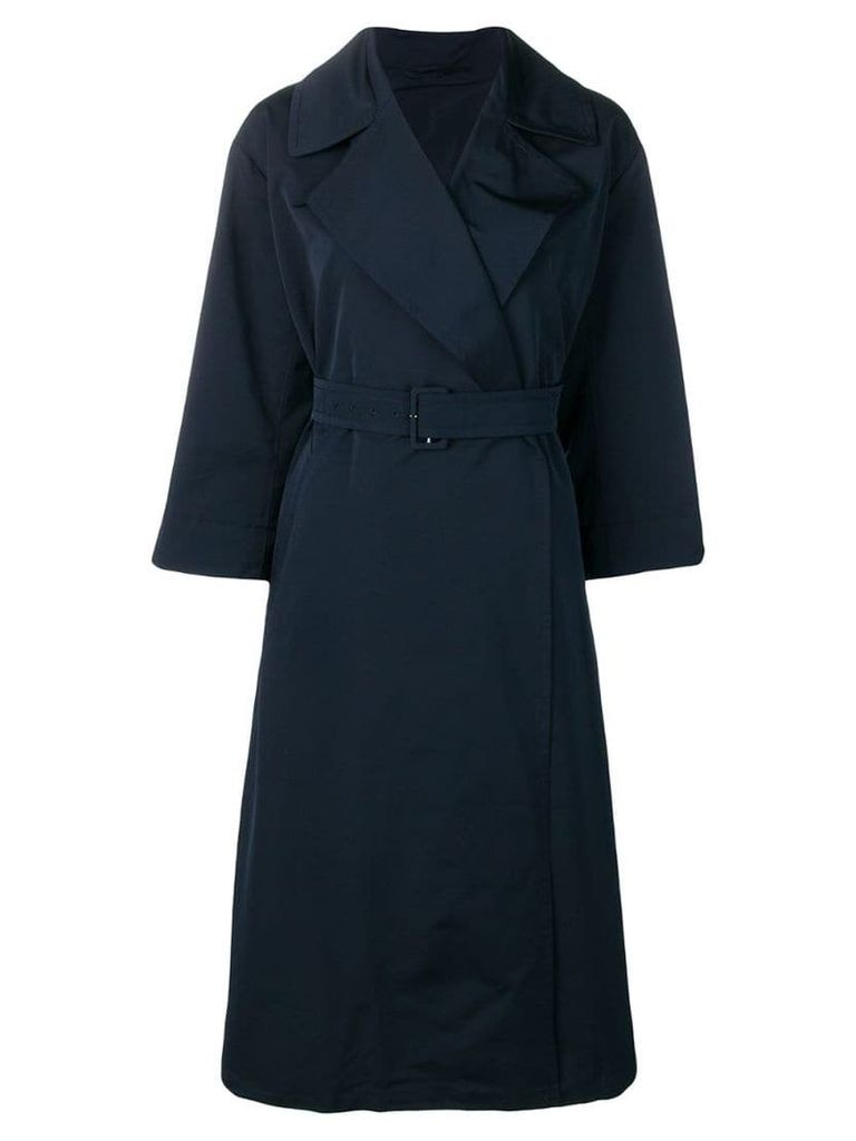 Max Mara belted trench coat - Blue