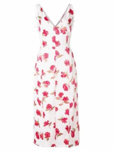 Altuzarra floral print dress - White