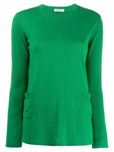 'S Max Mara classic pullover with pockets - Green