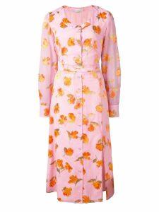 Altuzarra floral print dress - Pink