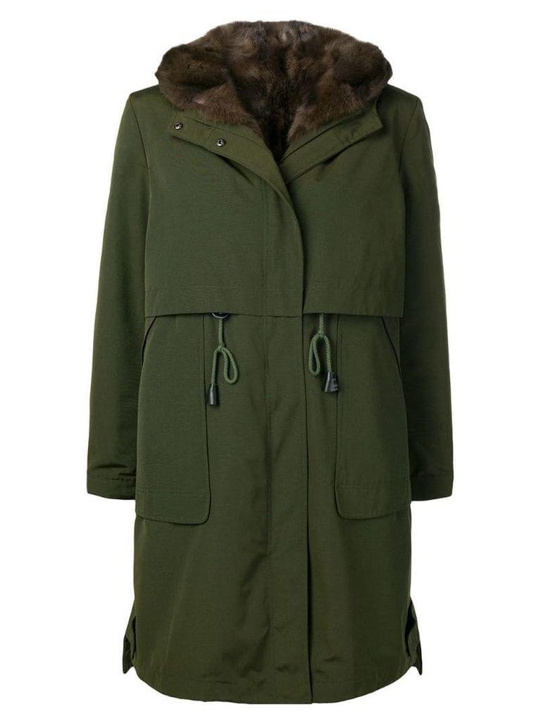 Liska hooded coat - Green