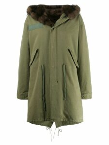 Liska sable fur lined parka - Green
