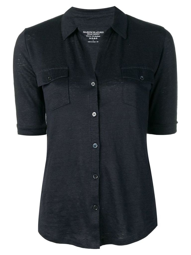 Majestic Filatures shortsleeved shirt - Blue