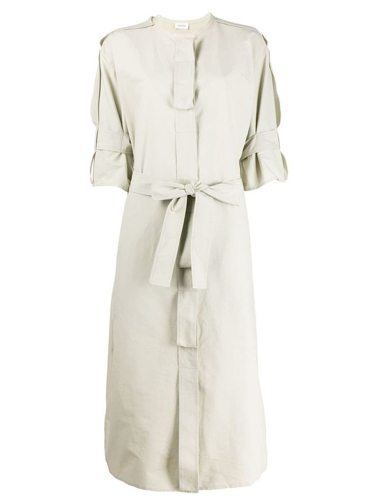 Lemaire belted coat - Neutrals