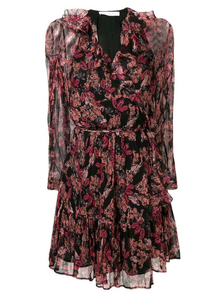 Iro Pacify floral dress - Pink