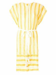 Lemlem Doro striped dress - Yellow