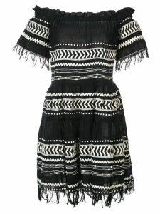 Lemlem Maya off-the-shoulder dress - Black