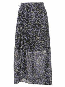 Robert Rodriguez Studio Lily ruched skirt - Black