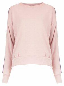 Andrea Bogosian appliqué sweatshirt - Pink