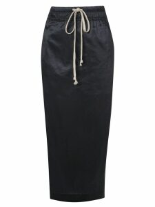 Rick Owens DRKSHDW Soft Pillar pencil skirt - Blue