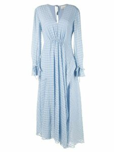 3.1 Phillip Lim flared maxi dress - Blue