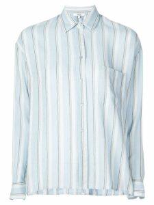 Vince striped button shirt - Blue