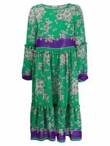 P.A.R.O.S.H. floral-print dress - Green