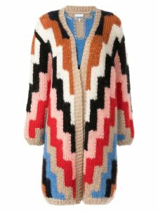 Ganni intarsia knit cardigan - Multicolour 999