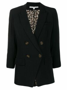 Veronica Beard double breasted blazer - Black