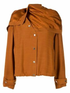 3.1 Phillip Lim removable scarf jacket - Brown