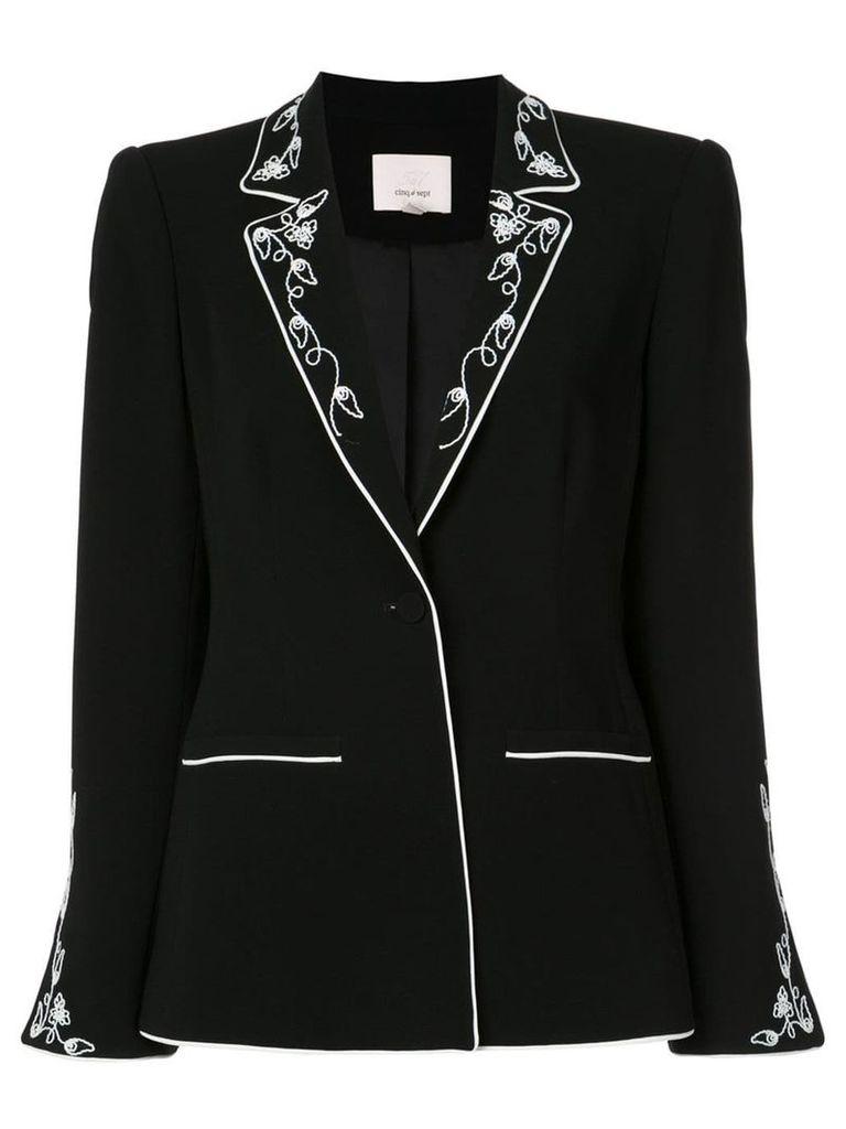 Cinq A Sept Western blazer - Black