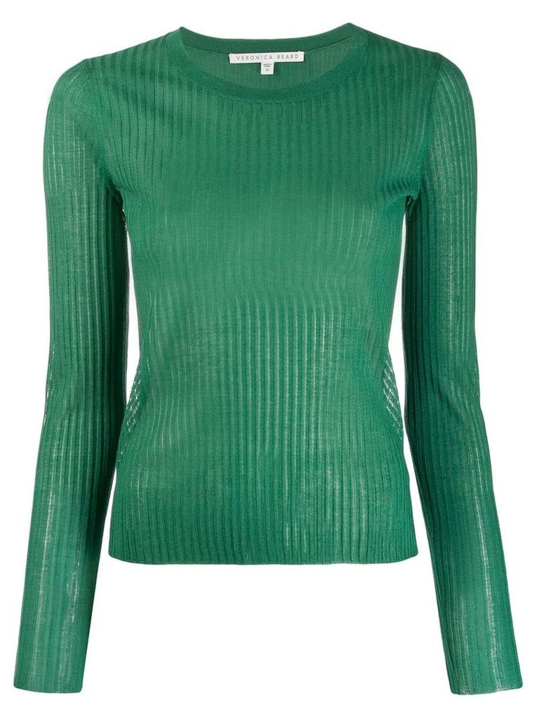 Veronica Beard ribbed knit top - Green