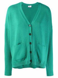 Allude V-neck cardigan - Green