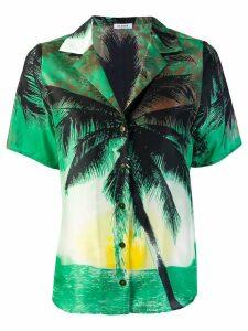 P.A.R.O.S.H. tropical blouse - Green