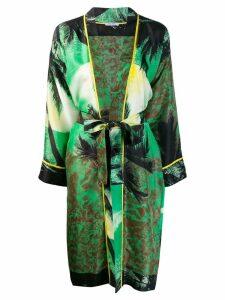 P.A.R.O.S.H. Sharise kimono coat - Green