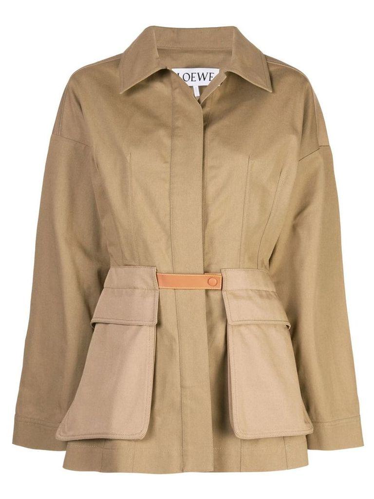 Loewe Safari coat - Brown