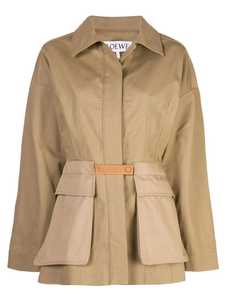 Loewe Safari coat - Brown