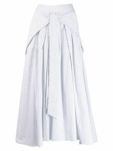 Teija Hame 26 midi skirt - White
