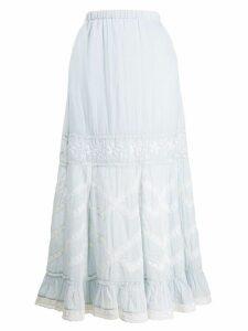 Love Shack Fancy Ali skirt - Blue
