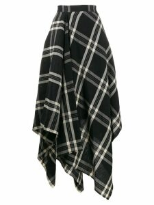 Vivienne Westwood check skirt - Black