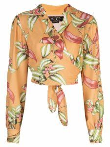 Patbo tie waist blouse - Yellow