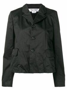 Comme Des Garçons Comme Des Garçons single breasted blazer - Black
