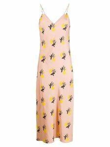 Essentiel Antwerp floral print slip dress - Pink