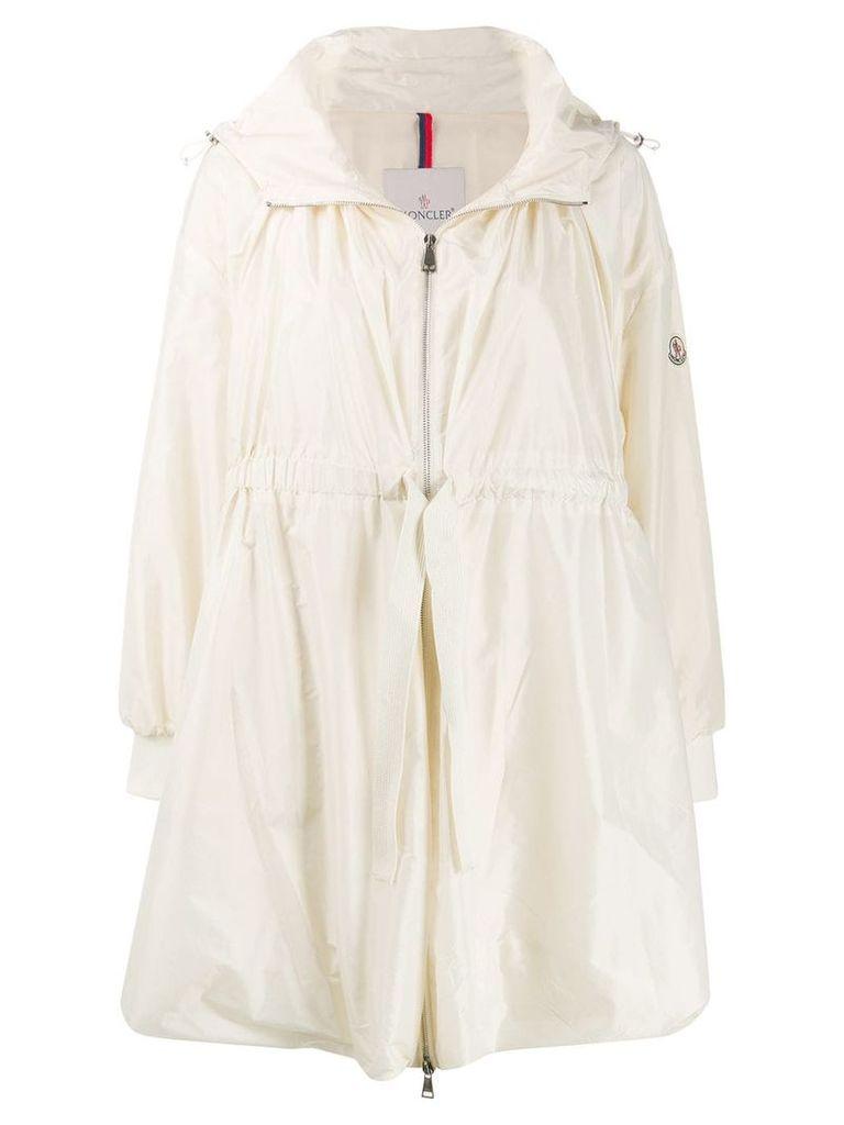 Moncler hooded parka - Neutrals