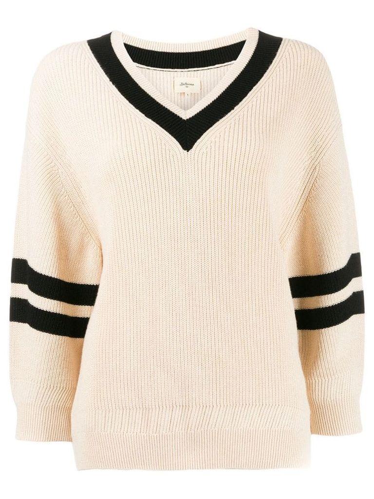 Bellerose v-neck jumper - Neutrals