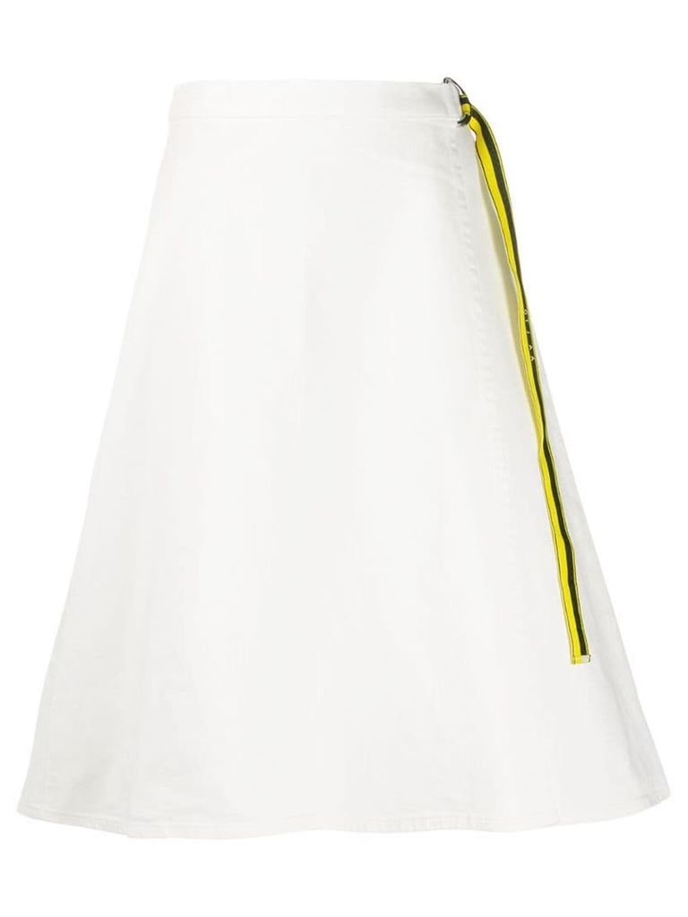 Aalto wrap skirt - White