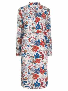 Essentiel Antwerp floral print midi dress - White