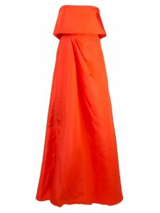 Alex Perry sleeveless gown - Orange