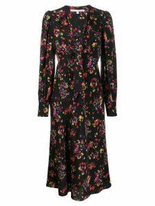 Veronica Beard Amber midi dress - Black
