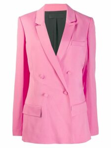 Haider Ackermann double breasted blazer - PINK