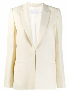 Victoria Victoria Beckham single-breasted blazer - Neutrals