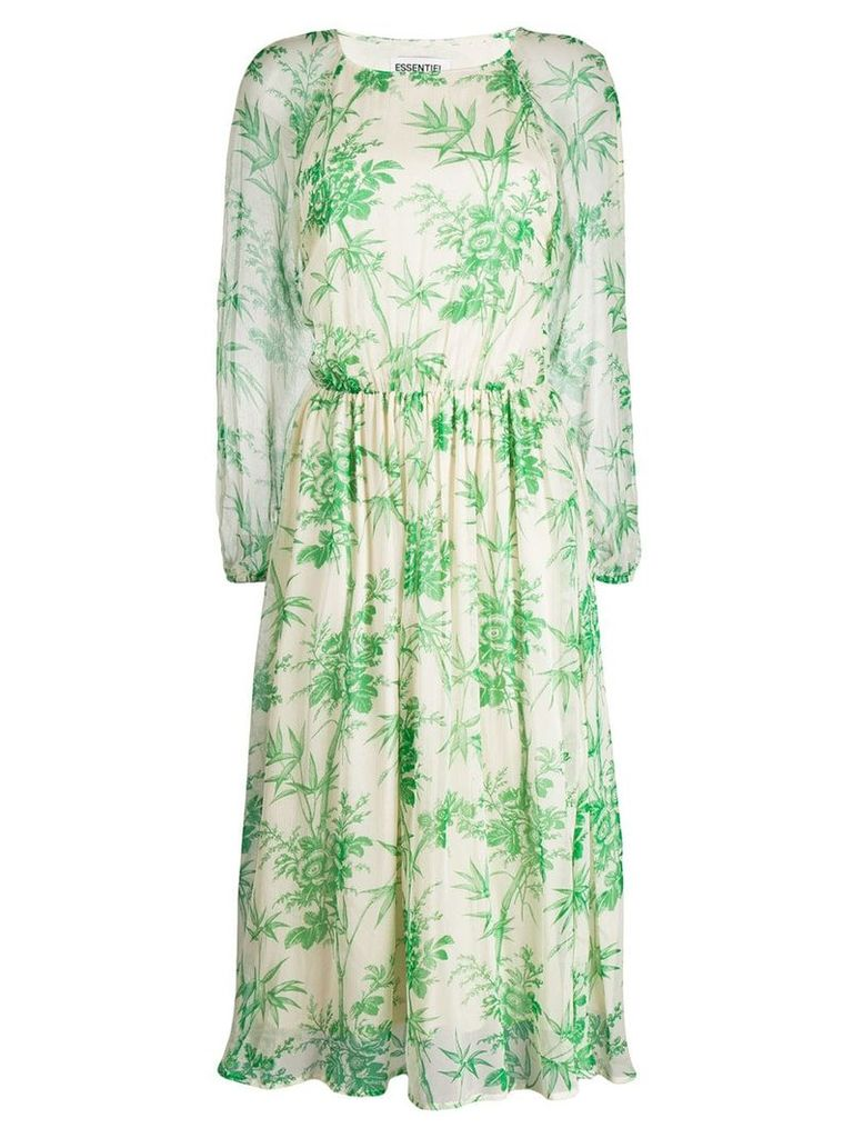 Essentiel Antwerp Shayna floral print dress - Neutrals