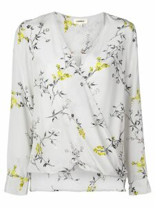 L'agence floral print blouse - Grey