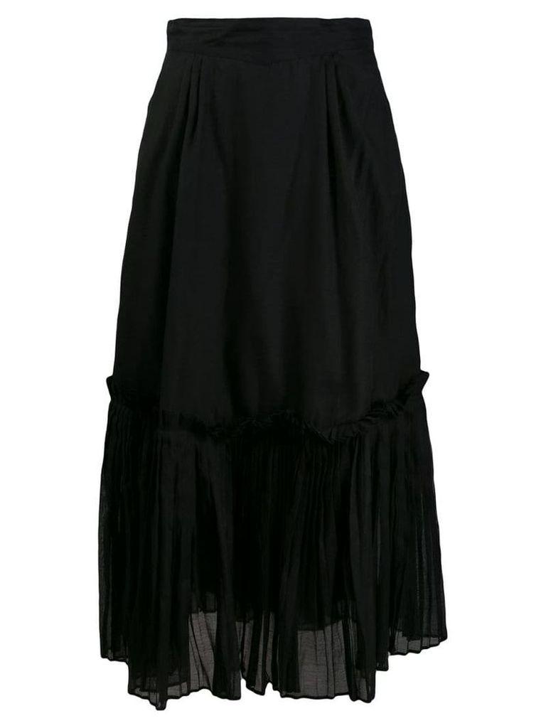Thierry Colson Teresita midi skirt - Black